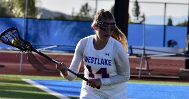Girls varsity lacrosse dominates last year's No. 1 team in Southern California