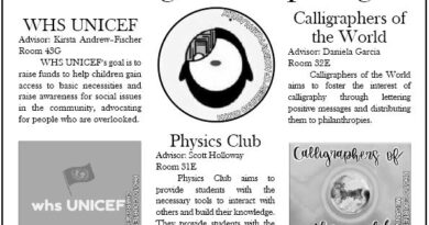 WHS students introduce new clubs